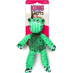 Kong Floppy Knots Hippo Dog Squeaker Toy - Multi - M/L found on Bargain Bro from Rivers for USD $21.69