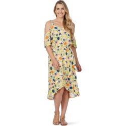 Rockmans Shortsleeve Tulip Ruffle Dress - Multi - 8 found on Bargain Bro India from W Lane for $15.55