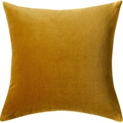Windsor Velvet Cushion - Old Gold - One Size found on Bargain Bro from Noni B Limited for USD $11.74