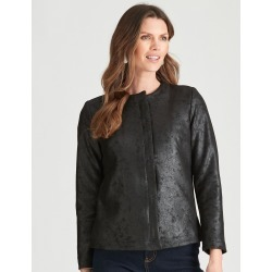 W.lane Drape Jacket - Black - 20 found on Bargain Bro from Katies for USD $20.71