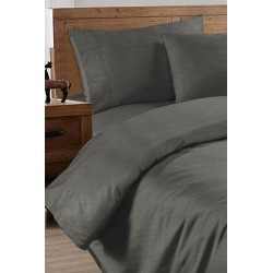 Ramesses Original Cooling Bamboo Sheet Set - Charcoal - Double found on Bargain Bro from Noni B Limited for USD $79.25