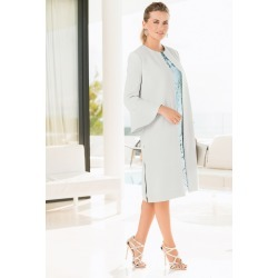 Together Flute Sleeve Coat - Soft Mint - 36 found on Bargain Bro from Noni B Limited for USD $70.52