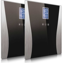 Soga Digital Body Fat Lcd Bathroom Scale Black 2pack - ONE found on Bargain Bro from Noni B Limited for USD $32.17