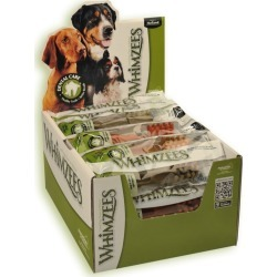 Whimzees Toothbrush Dental Care Dog Treat Wrapped Large 20 Pack - Multi found on Bargain Bro from Rivers for USD $43.88