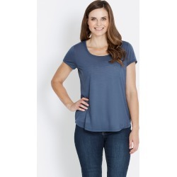 Rivers Short Sleeve Plain Poly Tee - Steel - 22 found on Bargain Bro from BE ME for USD $5.92