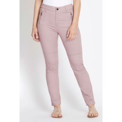 Rockmans Full Length Soft Touch Panel Detail Pant - Wood Rose - 14 found on Bargain Bro India from Rockmans for $14.48
