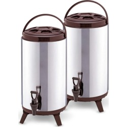Soga 16l Portable Insulated Brew Pot With Dispenser 2pack - Stainless Steel - ONE
