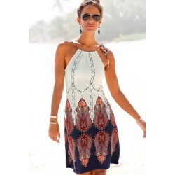 Urban Printed Beach Dress - 10 found on MODAPINS from crossroads for USD $27.09