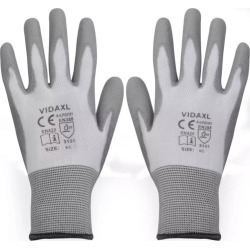 Work Gloves Pu 24 Pairs - Grey found on Bargain Bro India from crossroads for $57.89