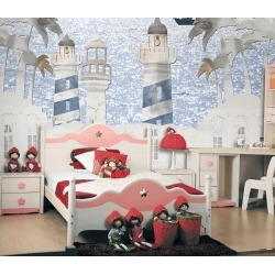 Aj Wallpaper 3d Lighthouse Picture 1035 Wall Murals Removable Wallpaper Self-adhesive Vinyl - Multi - XXXXL found on Bargain Bro from Rockmans for USD $288.65