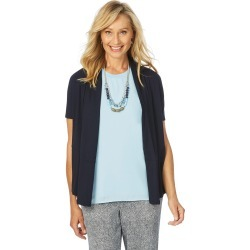 W.lane Drape Cardigan - Navy - XS found on Bargain Bro from Noni B Limited for USD $14.73
