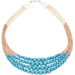 W.lane Basket Wood Necklace - Multi found on Bargain Bro India from crossroads for $32.27
