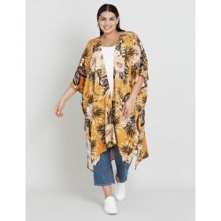 Beme Floral Fern Back Kimono - L found on Bargain Bro Philippines from crossroads for $30.65