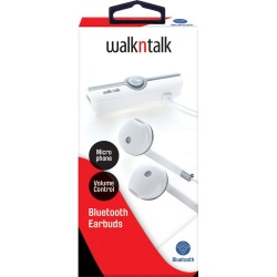 Walkntalk Bluetooth Earbuds - White found on Bargain Bro Philippines from crossroads for $18.82