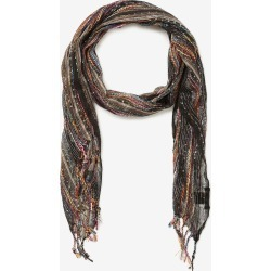Crossroads Popcorn Scarf - Black - One Size found on Bargain Bro India from Rockmans for $15.47