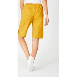 Capture Linen Blend Button Short - Honey - 16 found on Bargain Bro from Katies for USD $20.12