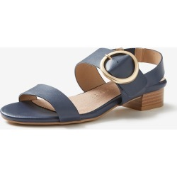 Rivers Riversoft Buckle Trim Block Heel - Denim - 39 found on Bargain Bro from Noni B Limited for USD $16.90
