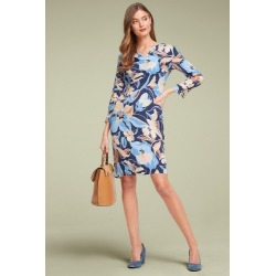 Capture Printed Shift Dress - Floral Print - 12 found on Bargain Bro from Noni B Limited for USD $29.37
