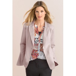 Grace Hill Linen Blend Blazer - Pearl - 8 found on Bargain Bro India from Rockmans for $45.74