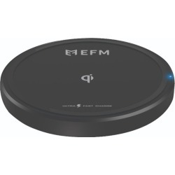 Efm 15w Wireless Charge Pad With Usb To Typec Charge Cable - Black - One