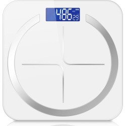 Soga 180kg Digital Fitness Weight Bathroom Scales - White - ONE found on Bargain Bro from Noni B Limited for USD $19.31