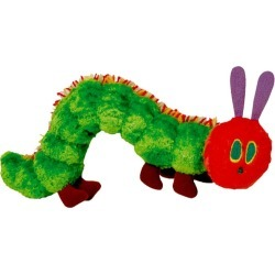Eric Carle Very Hungry Caterpillar Beanie Toy - Multi found on Bargain Bro India from crossroads for $22.10