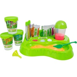 Nickelodeon Slime Station Game W 10x Instant Slime Mixer - Green - One