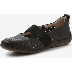 Rivers Leathersoft Elastic Mary Jane - Black found on Bargain Bro from crossroads for USD $16.88