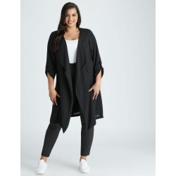 Beme Long Sleeve Duster Jacket - Black - 14 found on Bargain Bro India from W Lane for $24.60