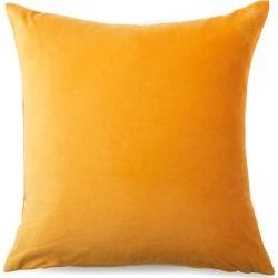 Windsor Velvet European Pillowcase Pair - Saffron - One Size found on Bargain Bro from Noni B Limited for USD $17.02
