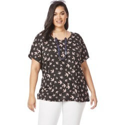 Beme Short Sleeve Cross Back Sparrow Tee - XS found on Bargain Bro India from BE ME for $11.57