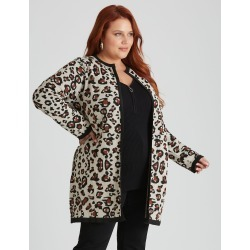 Beme Long Sleeve Animal Coatigan - XS found on Bargain Bro Philippines from Rockmans for $52.13