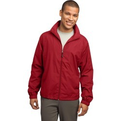Sport-tek Full-zip Wind Jacket - True Red - XS found on Bargain Bro India from Rockmans for $39.34