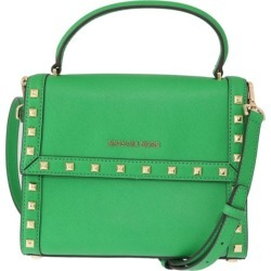 Michael Kors Green Dillon Studded Leather Messenger Bag - One found on Bargain Bro India from Katies for $403.30