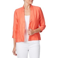 W.lane Paneled Stitch Jacket - Coral found on Bargain Bro India from crossroads for $71.72
