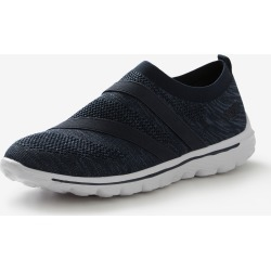 Rivers Barefoot Memory Foam Double Elastic Slip On - Navy - 38 found on Bargain Bro from Rockmans for USD $24.53
