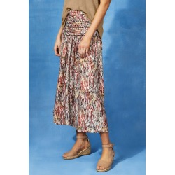 Capture Gather Waist Skirt - Animal Print - 20 found on Bargain Bro Philippines from crossroads for $36.80