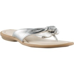 Capture Emily Sandal Flat - Silver - 6 found on Bargain Bro India from Rockmans for $28.49
