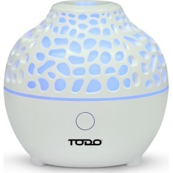 Todo 60ml Humidifier Aromatherapy Diffuser 7 Colour Led Ultrasonic Mist - White - One found on Bargain Bro from Noni B Limited for USD $23.48