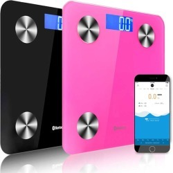 Soga Wireless Bluetooth Digital Health Analyser Scale 2pack - Black/pink - ONE found on Bargain Bro from Noni B Limited for USD $61.52