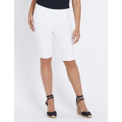 Millers Comfort Denim Shorts - White - 16 found on Bargain Bro India from W Lane for $11.66