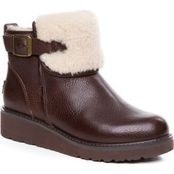 Ozwear Ugg Womens Queena Shearling Boots - Brown - EU38 / AU8L found on Bargain Bro from Katies for USD $90.50