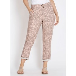 Rockmans 7/8 Length Seam Detail Cargo Pant - Animal Multi - 10 found on Bargain Bro India from W Lane for $11.66