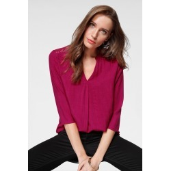 Urban Lace Detail Top - Fuchsia - 10 found on Bargain Bro from Noni B Limited for USD $28.18