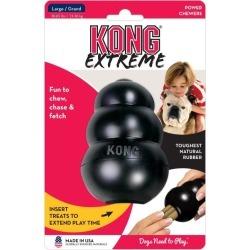 Kong Dog Extreme Food Dispenser Interactive Dog Toy Large - Multi