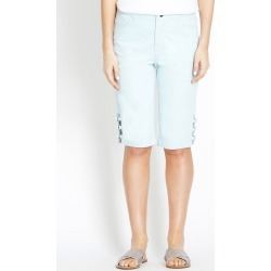 Rockmans Knee Length Dreamy Blue Short found on Bargain Bro India from crossroads for $10.26