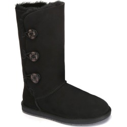 Ugg Boots Classic Tall In 3 Button - Black - AU W5/ M3 found on Bargain Bro from Katies for USD $115.18