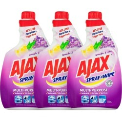 Ajax 750ml Spray N Wipe Refill Multipurpose Lavender & Citrus - One found on Bargain Bro Philippines from crossroads for $19.61