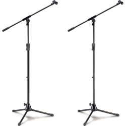 Hercules Tripod Microphone Stand W/ Die Cast Base And Boom 2pk - Multi - One found on Bargain Bro Philippines from Noni B Limited for $106.97