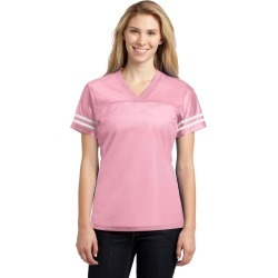 Sport-tek Ladies Posicharge Replica Jersey - Light Pink/ White - S found on Bargain Bro Philippines from Noni B Limited for $20.65
